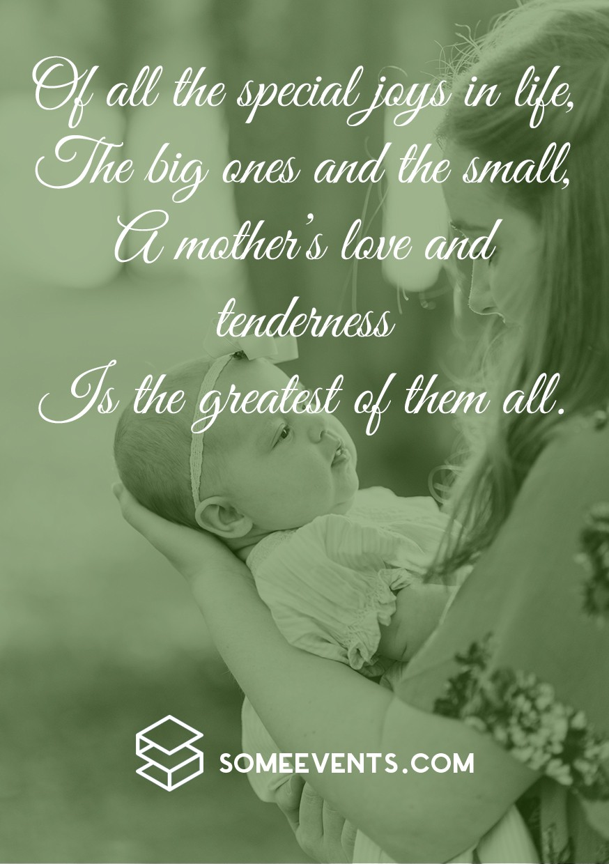Short Mother's Day Poems