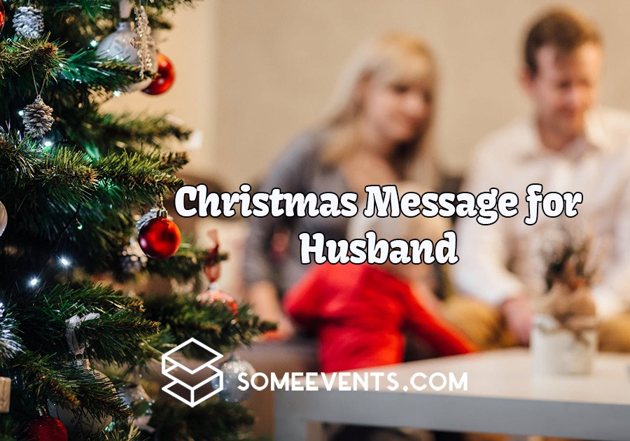 Christmas Message for Husband