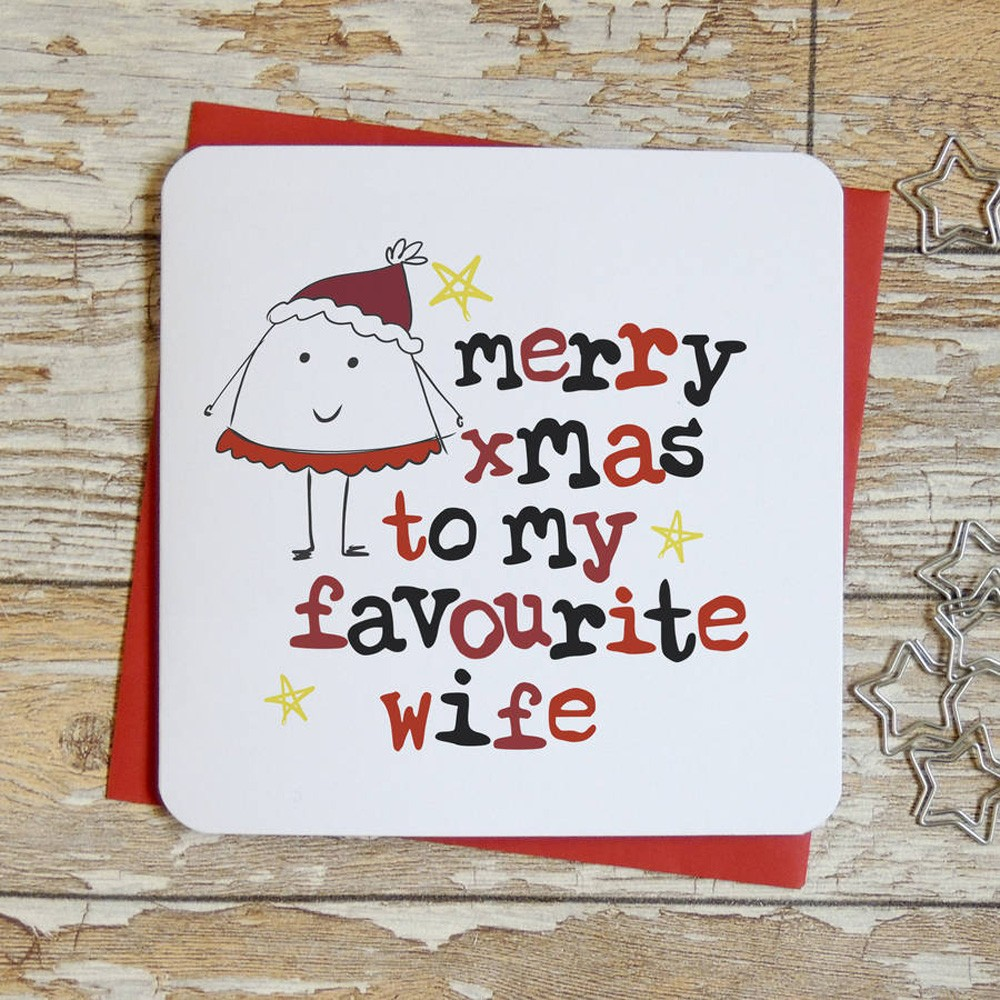 Christmas Message for Wife