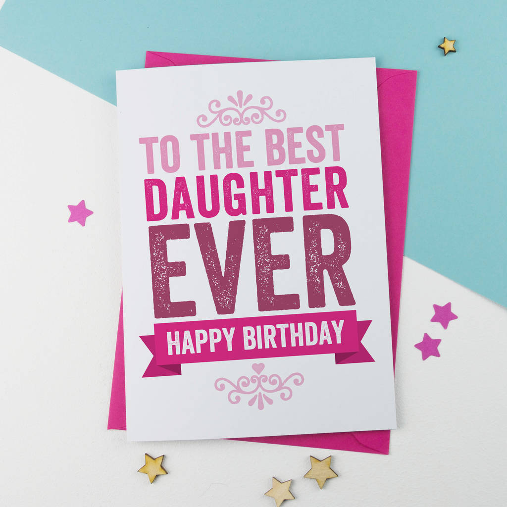Emotional Birthday Wishes for Daughter from Mom 1