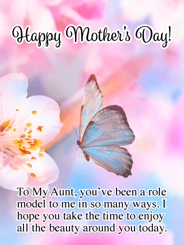 Happy Mothers Day Messages for Aunt