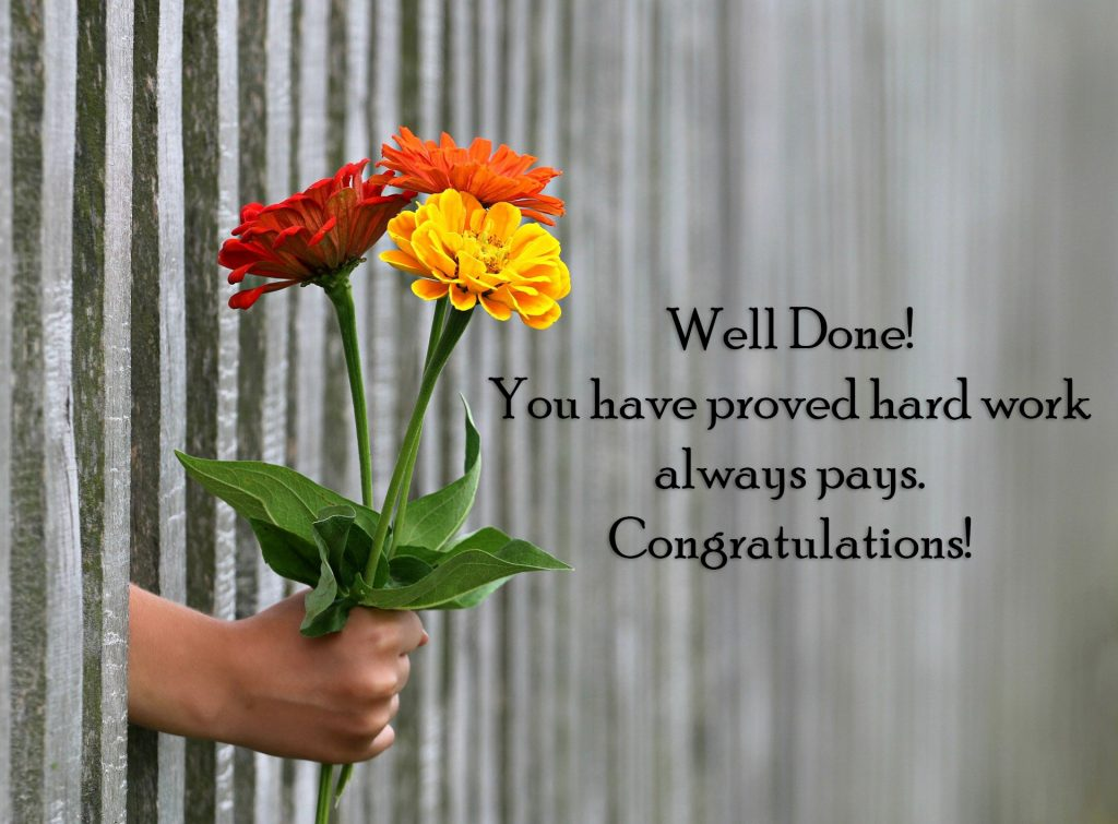 Congratulations for Promotion Message