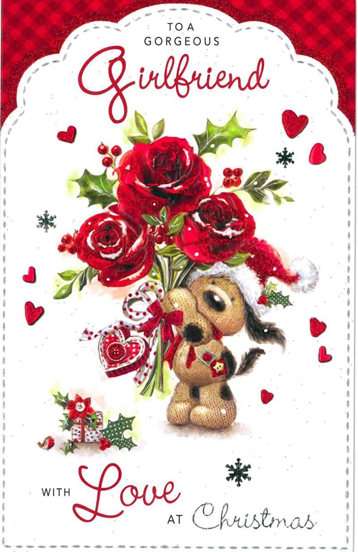 christmas card for a girlfriend - Christmas Card For Girlfriend