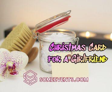 Christmas Card for a Girlfriend
