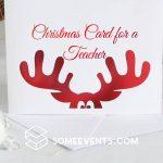 Christmas Card for a Teacher