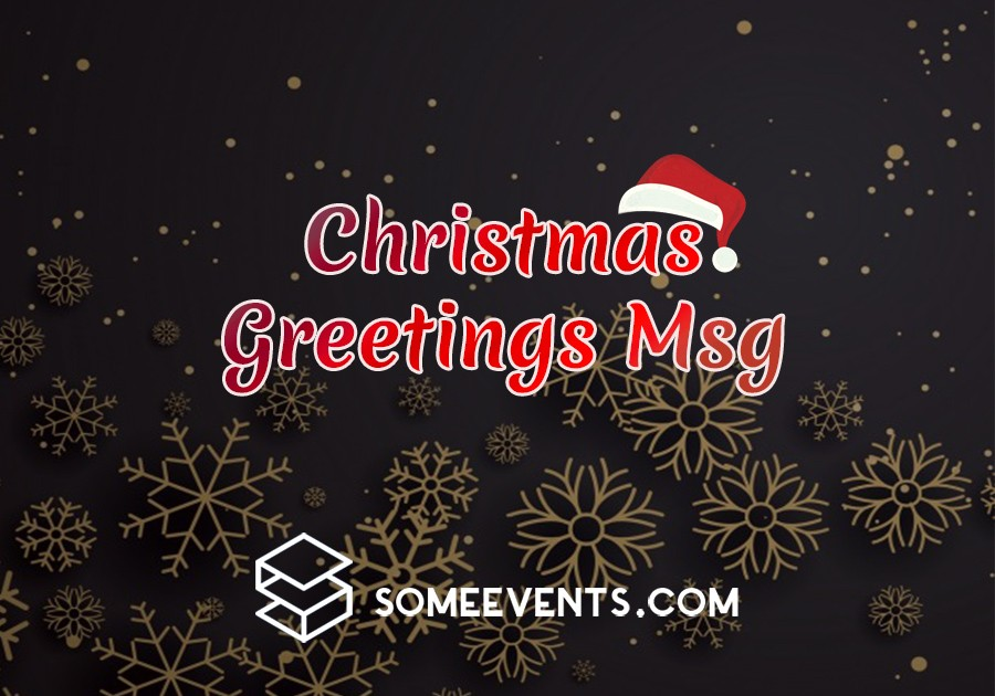 Christmas Greetings Msg