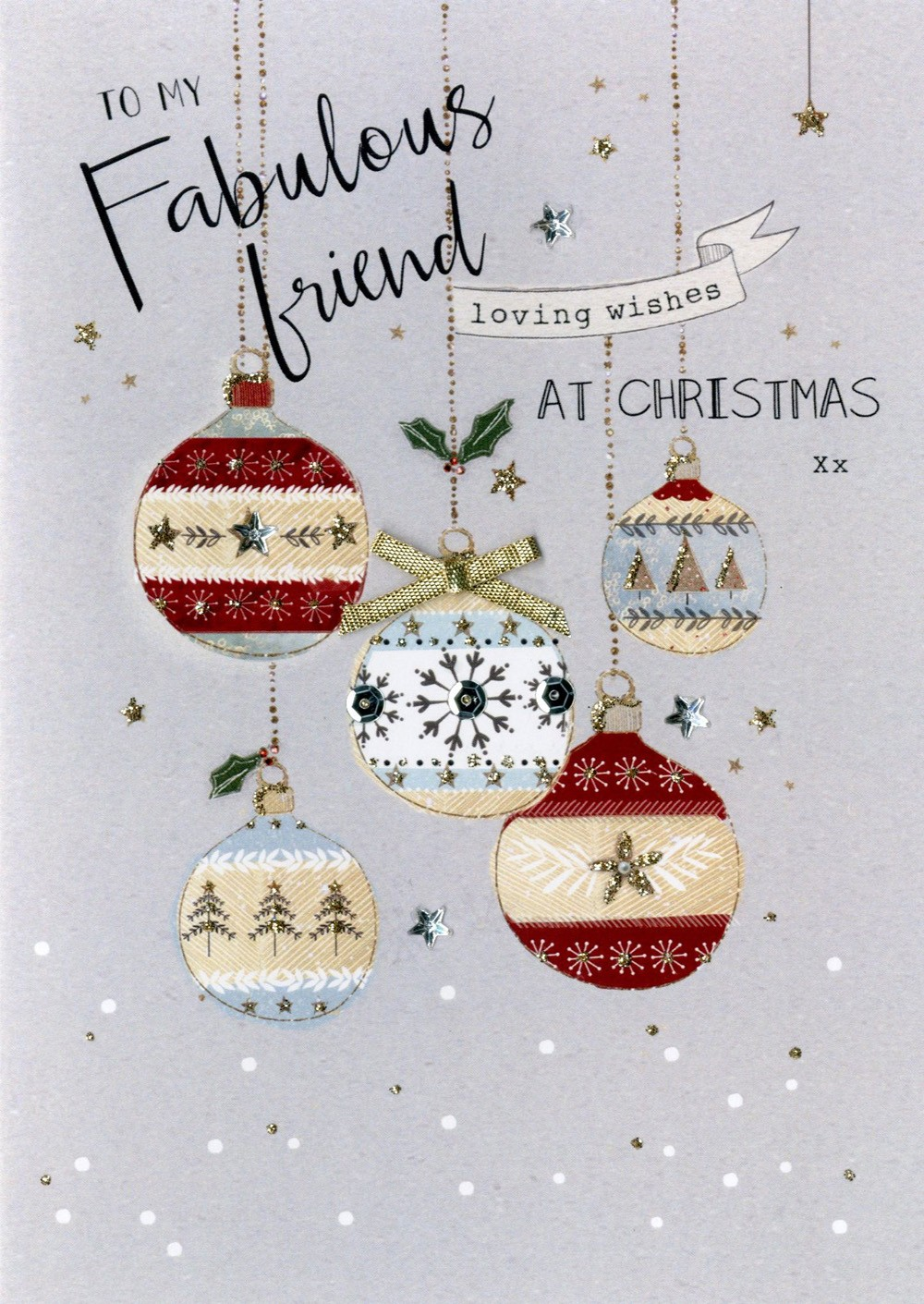 Christmas Greetings for a Friend