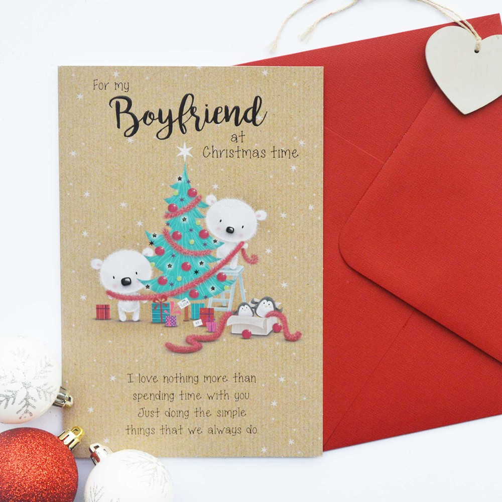 65+ Christmas Message For Boyfriend