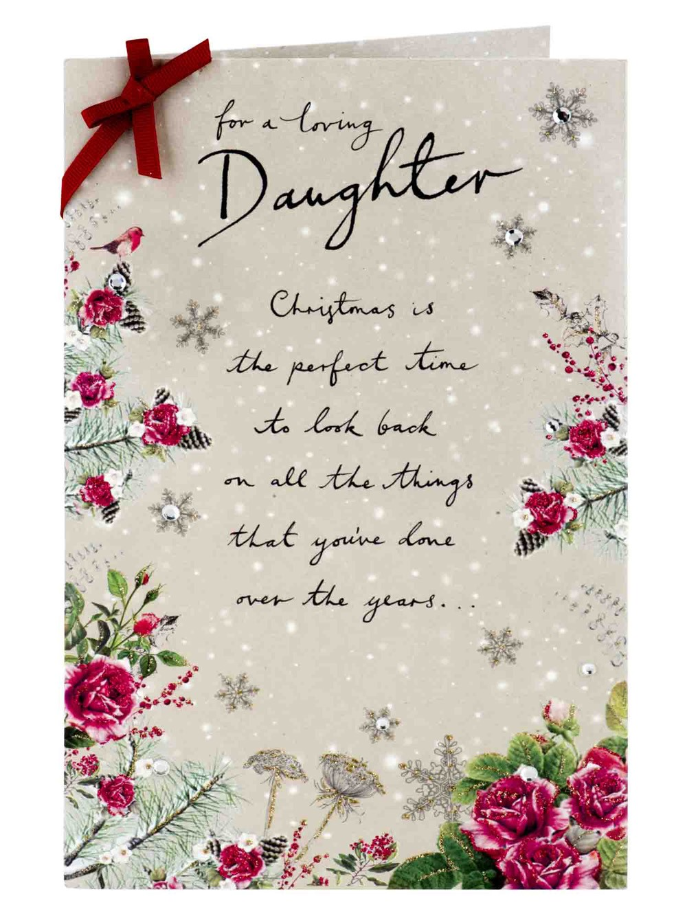 Christmas Message for Daughter