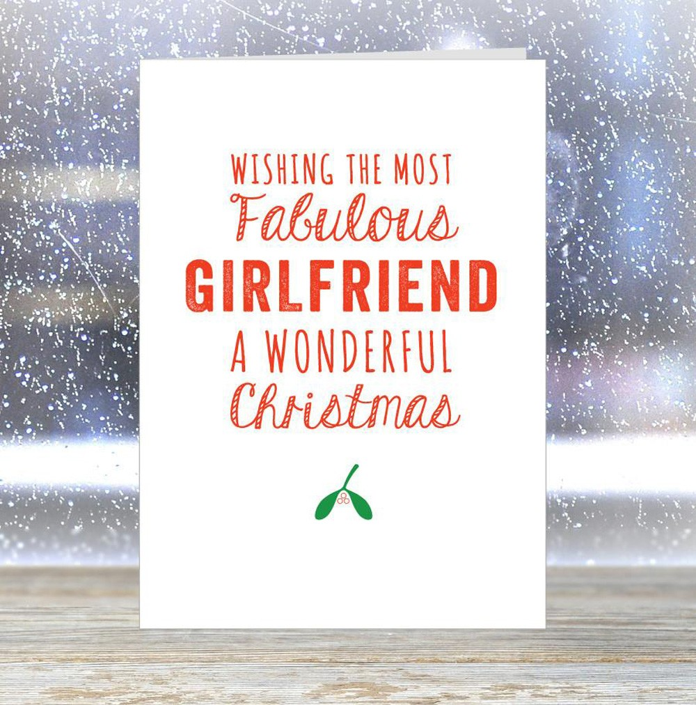 Christmas Message for Girlfriend