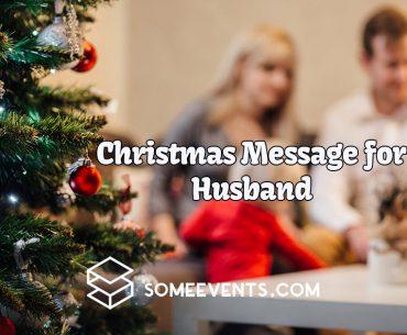 Christmas Message for Husband