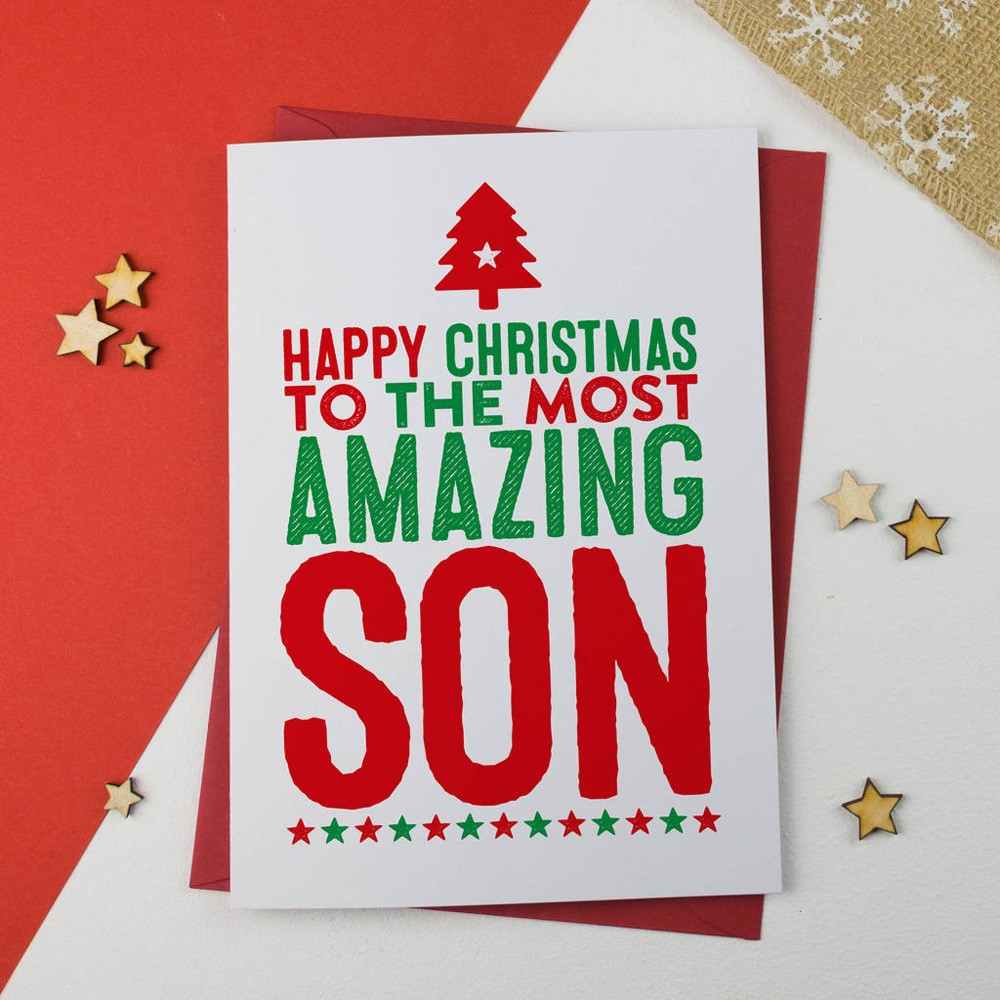 Christmas Message for Son