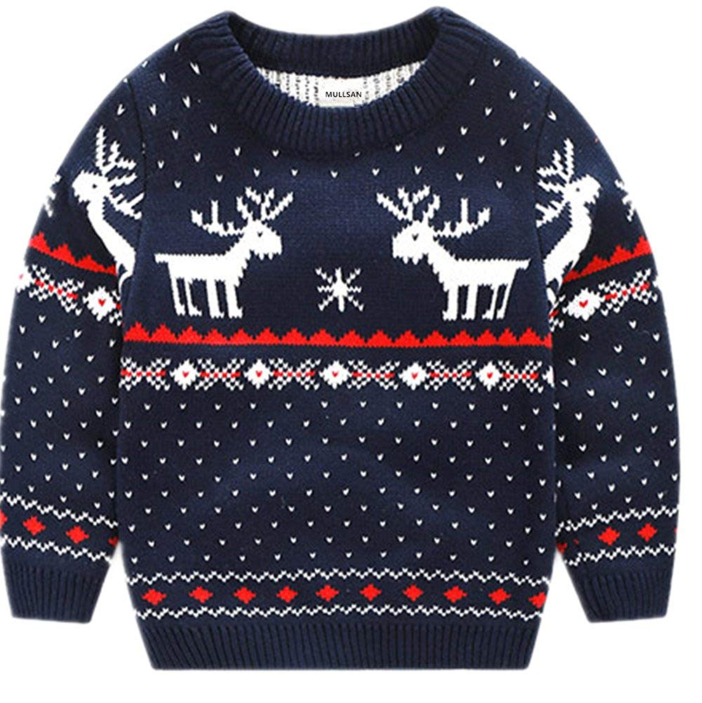 Children's Fireplace Lovely Sweater Christmas
