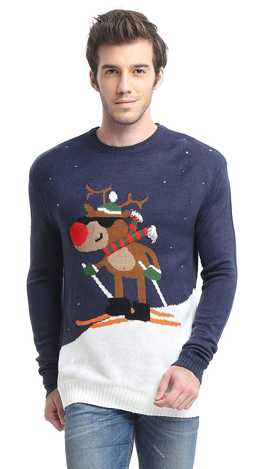Daisys Boutique Mens Santa Sweater