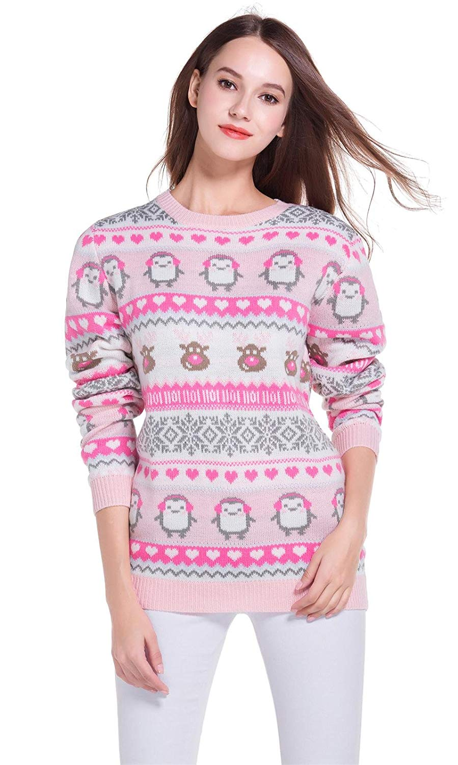 Christmas Jumpers for Women's