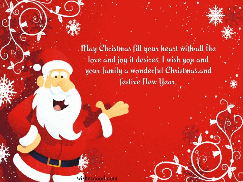 Christmas Greetings in Cards