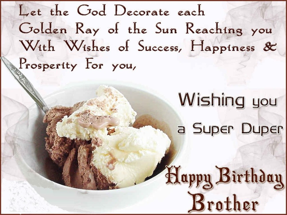 Birthday Wishes for Brother
