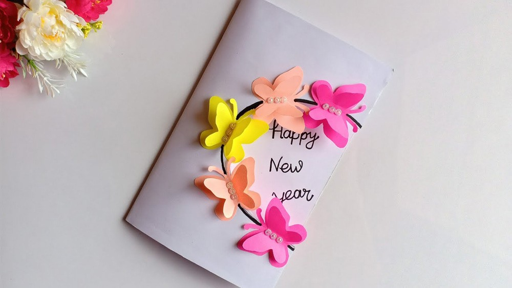 New Year Wishes Greeting Cards